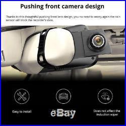 10 4G 1080P Car DVR BT GPS WIFI Android Dual Lens Car Rear View Mirror Camera