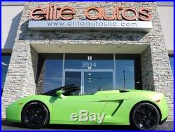 2008 Lamborghini Gallardo Spyder VERDE ITHACA Ceramic Brakes NAV Reverse Cam