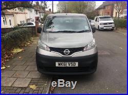 2011 Nissan Nv200 Se DCI 1.5 Grey Van 82k 12 Months Mot Reverse Camera Bluetooth