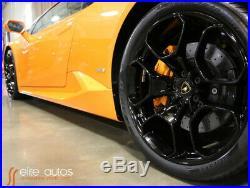 2015 Lamborghini Huracan LP610-4 Navigation Reverse Camera Pearl Orange