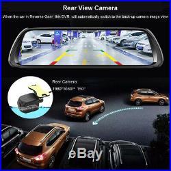 2019 Android 8.1 mirror dash camera smart car dvr camera rear view mirror camera