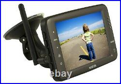 -2 2.4GHz HD Wireless Car CCD Camera 5 Monitor Reverse For Horse Float CCD Kit