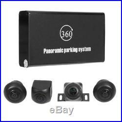 360° Bird View Panorama System 4 Cameras 720P Car DVR Recording Rearview Camera