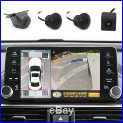 360° Bird View Panoramic 4 Camera SUV Car DVR Recording Parking Rear View Videos