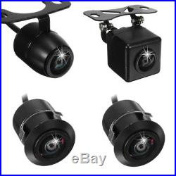 360° Car 4 Way HD Camera Rear Side Backup Front Bird View Parking System DVR Cam