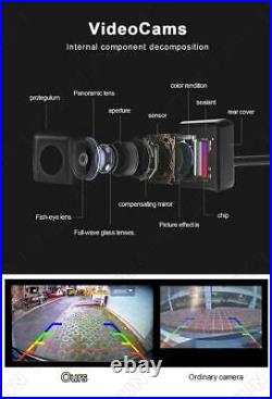 360° HD Car DVR Recording Parking Rearview Camera Kit Bird View Panoramic System