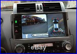 360° HD Universal Car Bird View Panoramic 4 Camera DVR Recorder Monitoring