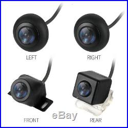 360° HD Universal Car DVR Bird View Panoramic System withSeamless Splice 4 Camera