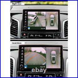 3D 360° Bird Eye View Panoramic 4 Camera Car DVR Recording Parking Videos Parts