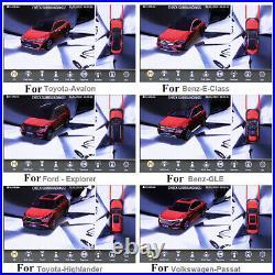 3D 360 Bird View Car Parking Assist Camera DVR System Backup Rear View Universal