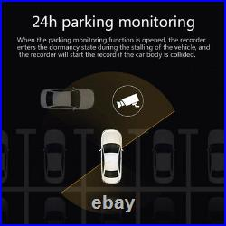 4G 10 IPS GPS Dual Lens Android 5.1 Car Rearview Mirror DVR Recorder Camera Kit