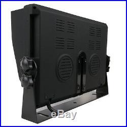 4 Channel 4PIN 9 4 Split Quad Screen Car Rear View Monitor For Reversing Camera