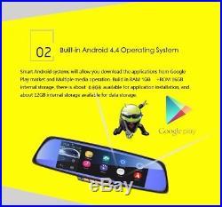 6.86HD Touch Screen Auto Car DVR GPS Navigation+Rear View Camera Video Recorder