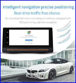 7Touch Screen Car DVR GPS Navigation + Rear View Camera Video Recorder Dash Cam
