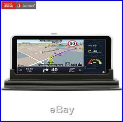 7 1080P HD Autos DVR Rear View GPS Navigation WIFI FM Video Recorder Camera Kit