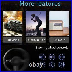 7 2DIN Car Stereo MP5 Player BT Android 10.1 WiFi GPS Navi FM Radio USB +Camera