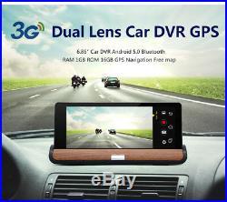 7 3G Wifi Car DVR GPS Full HD 1080P Car Rear View Mirror Monitor Reverse Camera