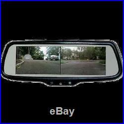 7 3 Rear View Split Screen Mirror Backup Camera 2