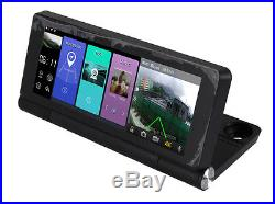 7 Android Wifi Dual Lens Car GPS DVR Camera Video Recorder with Rear View Camera