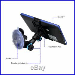 7 Car Bluetooth GPS Navigation System Wireless Backup Camera Reverse Rear View