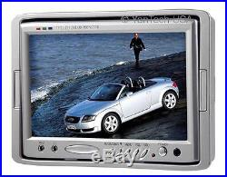 7 Color LCD Monitor CCD Rear View Backup Camera System-up To 3 120°ccd Cameras