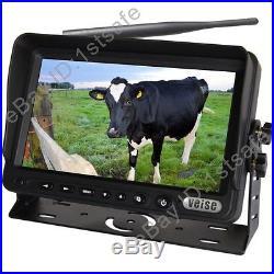 7 Digital Wireless Rear View Backup Camera System Ir Reverse No Interference