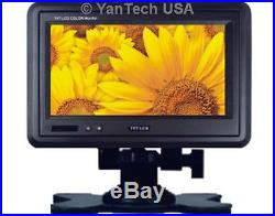 7 QUAD Monitor Rear View Back up Camera System-RV Truck Trailer Bus Fifth-Wheel