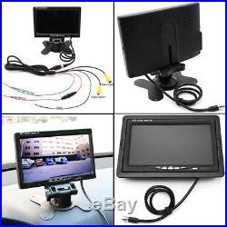 7 TFT HD Monitor + 4CH DVR Box + 4x Rear View Camera + Remote Control for Truck