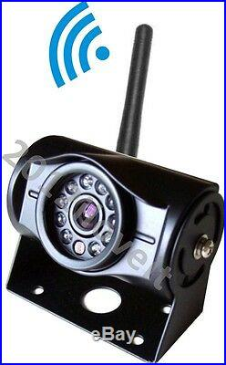 7 Wireless Rear View Backup Camera System Cctv For Skid Steer, Forklift Tractor