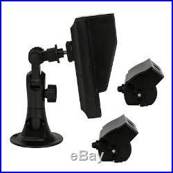 7'' inch LCD Screen Backup Camera & Video Monitor Reverse Camera Split View Rear