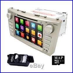 8Toyota Camry 2007-2011 GPS Navigator Car Dash DVD Stereo System+Reverse Camera