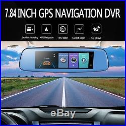 8'' 1080P GPS 4G Android 5.1 Auto DVR Camera Wifi Car Rear View Mirror Dash Cam