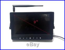 9 DIGITAL WIRELESS AGRICULTURE REAR VIEW BACKUP CAMERA SYSTEM, NO INTERFERENCE
