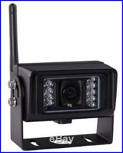 9 Digital Wireless Rear View Backup Camera System Kit Split LCD No Interference