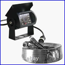 9 Quad Monitor Truck Reversing backup camera 4 x 4Pin CCD Reversing Camera