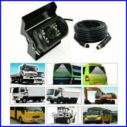 9 Quad Split Screen Monitor 4pc Backup Rear View CCD Camera System For Truck Rv