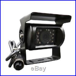 9 Quad Split Screen Monitor 4x Backup REAR VIEW CCD Camera System For Truck RV