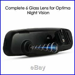 AUTO-VOX 4.3 Car DVR Rear VIew Mirror Monitor Dash Cam Camera G-sensor