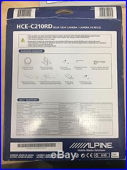 Alpine HCE-C210RD Rear Camera with Multi-View