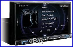 Alpine iLX-207 7- Mech-less Receiver With Rear View Camera & Trigger Module