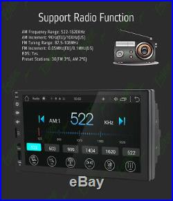 Android 10 2GB 7 Double 2Din Car Radio Stereo NO DVD Player GPS Nav OBD WiFi SD
