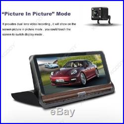 Android 7 HD 1080P Dual Lens Car DVR Dash Cam Rearview Camera Recorder GPS Wifi