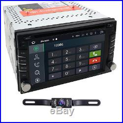 Android TV WiFi GPS 6.2 2Din In-Dash Car DVD Radio Stereo Player Reverse Camera