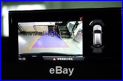 Audi 2017 Q7 MIB 2 System Rear View Camera with iPas Trajectory moving guideline