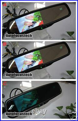 Auto Dimming Mirror + 4.3 Parking Rearview Display + Compass/Temperature/Camera