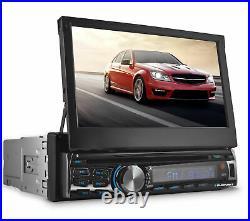 BLAUPUNKT AUS440 7 1-DIN DVD Receiver with Bluetooth AUSTIN 440 + Rear Cam 95BK