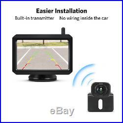 BOSCAM K7 LCD Wireless Rear View Camera 5 LCD Monitor Parking Backup Camera US