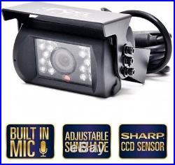 Backup Camera 7 Inch Digital LCD Car Rearview Monitor Infrared Rear View