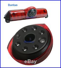 Backup Rear View Camera/3rd Brakelight for 04-17 Chevy Express Van/GMC Savana