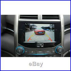 Black Car Night Vision Rear View Reversing Backup HD Camera 170° Waterproof